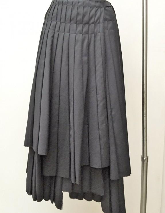 SKIRT (and dress!) 100 uneven  panels